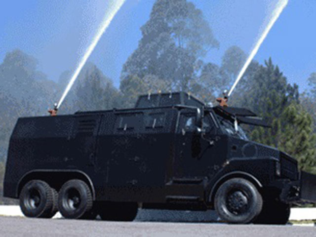 Armortek International Armored Riot Control Truck With Water Cannon