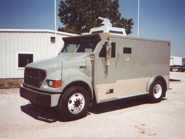 Armortek International Armored Riot Control Truck
