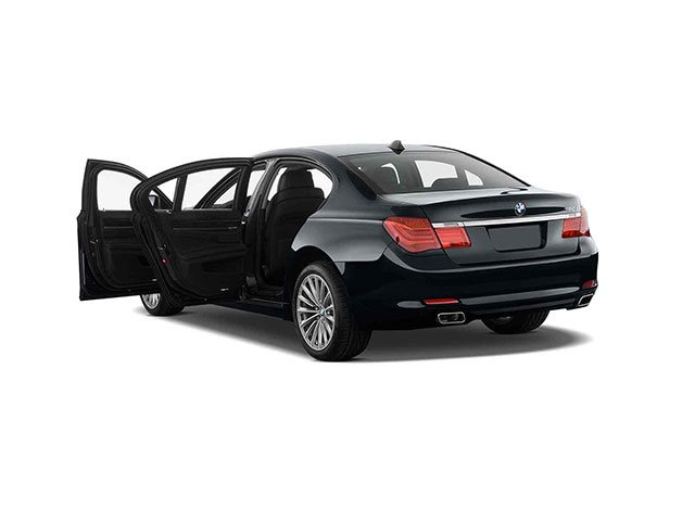 Armortek International Armored Car Black BMW Back View