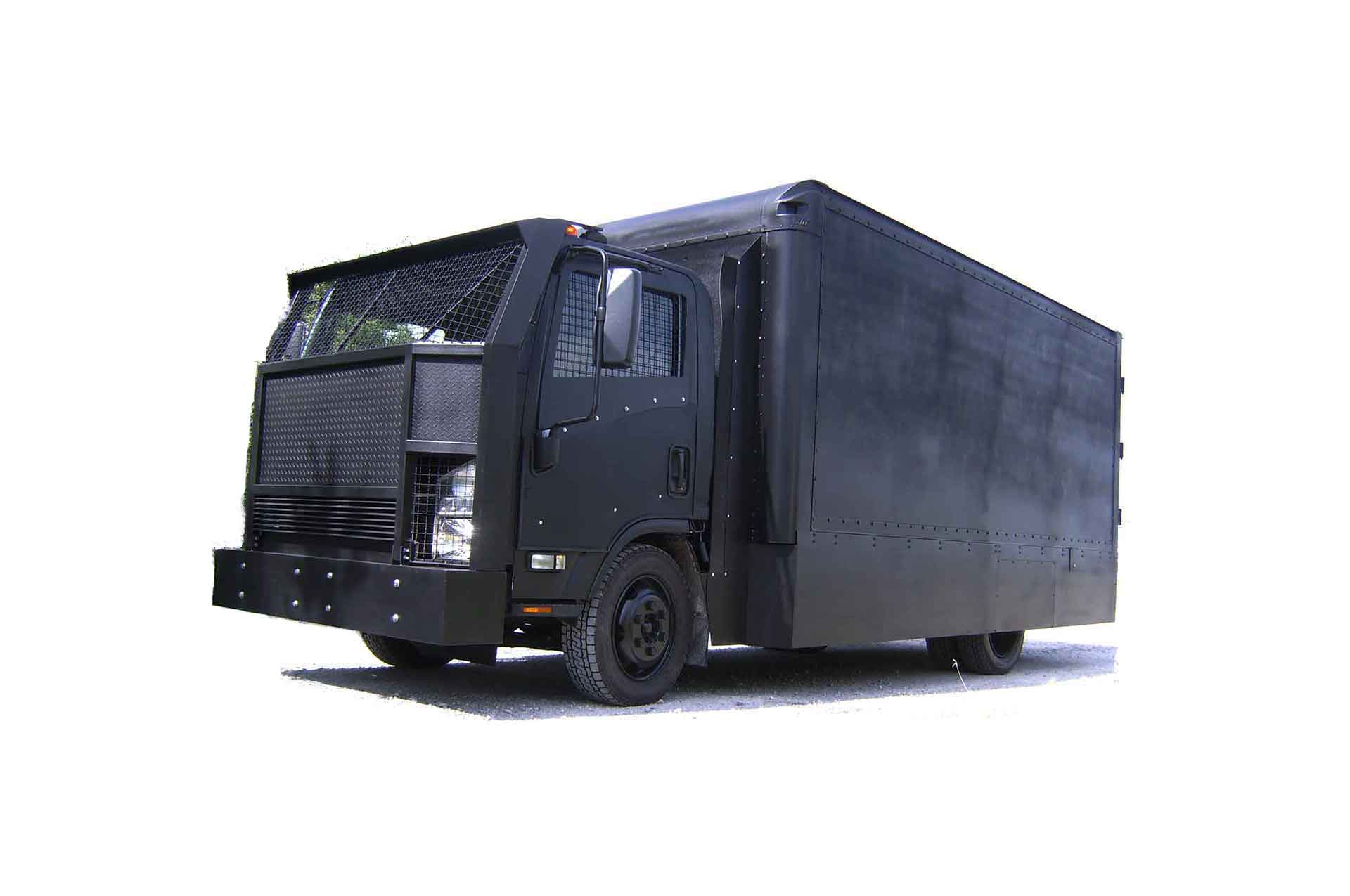 Armortek International Armored Riot Control Truck Black