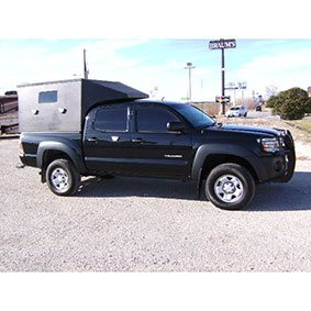 Armortek International Custom Armored Bulletproof Pickup Truck Black